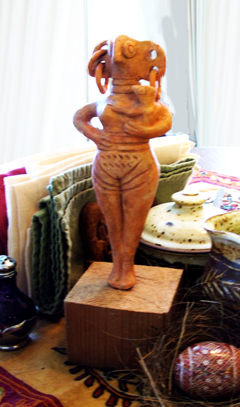 Cyprus Bird Goddess